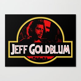 JURASSIC GOLDBLUM Canvas Print