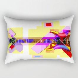 Sounds of music. Guitar. Rectangular Pillow