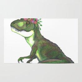 Pretty T-Rex Rug
