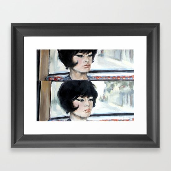 Camille Framed Art Print