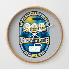 Ugnaughts Unite Wall Clock