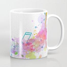 Music Breaks Fre Coffee Mug