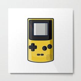 Retro Gaming: Game Boy Color Metal Print