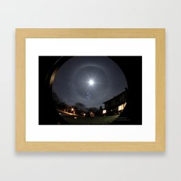 Winter Halo Framed Art Print
