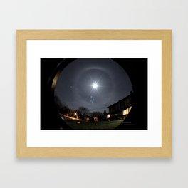 Winter Halo Framed Art Print