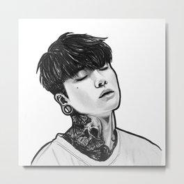 Jinhwan Metal Print
