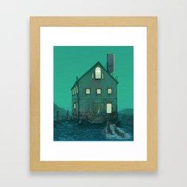 Boat House Framed Art Print