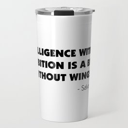 Intelligence Without Ambition is a Bird Without Wings - Salvador Dalì Travel Mug