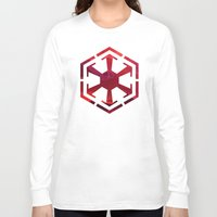 sith Long Sleeve T-shirts featuring Star Wars Sith Empire by foreverwars