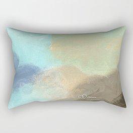 Abstract cloud Rectangular Pillow