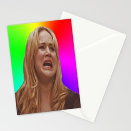 Jennifer Lawrence Rainbow Derp Stationery Cards