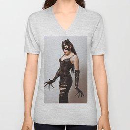 Catwoman Unisex V-Neck