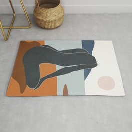 Abstract Art Nude 4 Rug