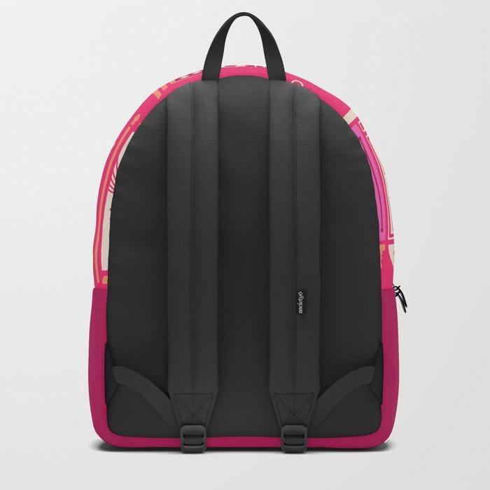 Moroccan Doors – Pink Palette Backpack