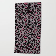 tiger pattern Beach Towel
