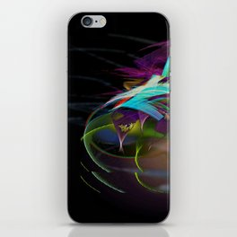 Flora Swirl iPhone Skin