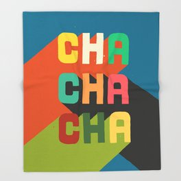 Cha cha cha Throw Blanket