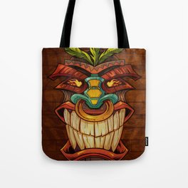 Tiki Head Style 1 Tote Bag