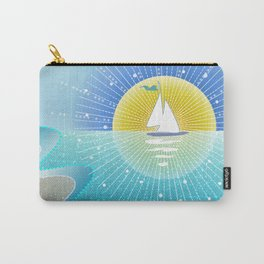 Sunny Sailing Carry-All Pouch