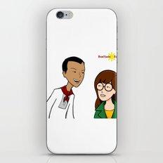 Daria meets Andres Bonifacio iPhone & iPod Skin
