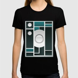 Art Deco Brownie Camera - Winter Edition T-shirt