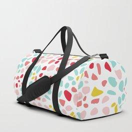 Modern Terrazzo Vector Pattern Duffle Bag