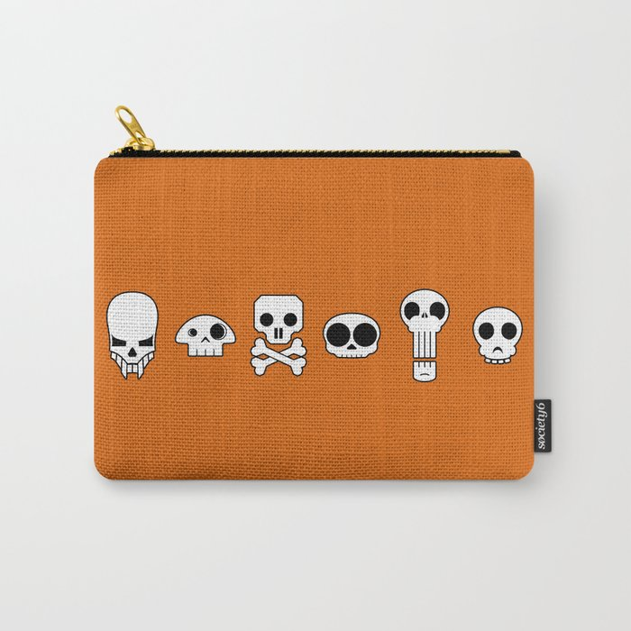 All skulls, all the time. Carry-All Pouch