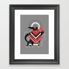 Wolf XXL Framed Art Print