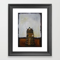 Dalek and a Rothko Framed Art Print