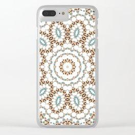 Multi-colored ornament 19 Clear iPhone Case