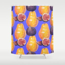 Oh pear! Shower Curtain