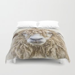 Longwool Sheep Duvet Cover