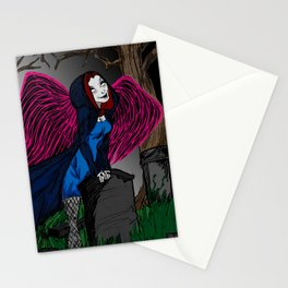 Death is looking for you Stationery Cards