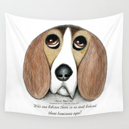 Soulful Eyes by Vale Marino Wall Tapestry