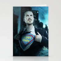 heroes Stationery Cards featuring Heroes by Nessendyl