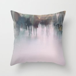 The Anonymous World We Live In Throw Pillow