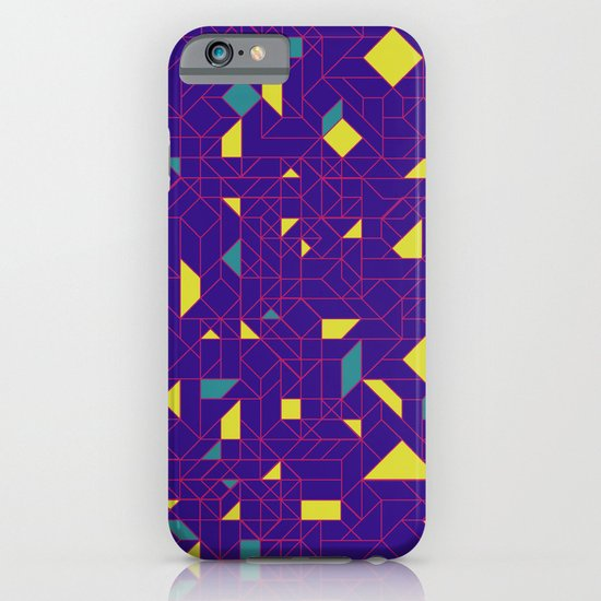 TronGeometric iPhone & iPod Case