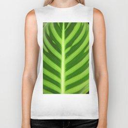 Green leaf Biker Tank