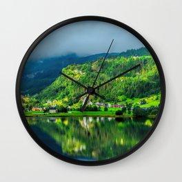 Beautiful Norway Wall Clock