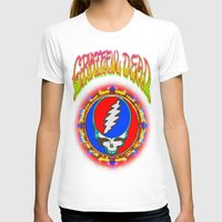 grateful dead T-shirts featuring Grateful Dead #8 Optical Illusion Psychedelic Design by CAP Artwork & Design