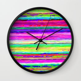 every color 100 Wall Clock