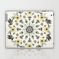 Blackbird Floral Mandala Laptop & iPad Skin