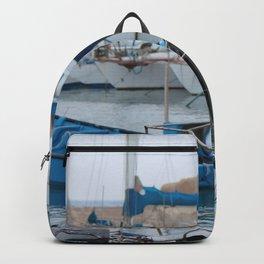 Docked Boats-Color Backpack