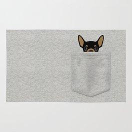 Pocket Chihuahua - Black Rug