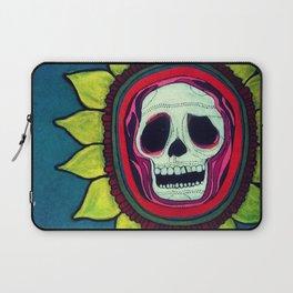 Skull Flower Laptop Sleeve