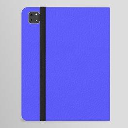 Bright Fluorescent Neon Blue iPad Folio Case