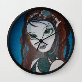 Steampunk archer (artiest Alysia Kaiser) Wall Clock