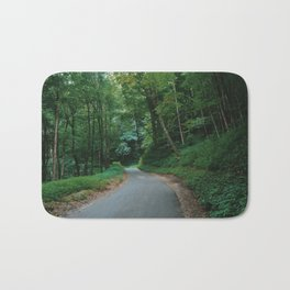Forest route Bath Mat