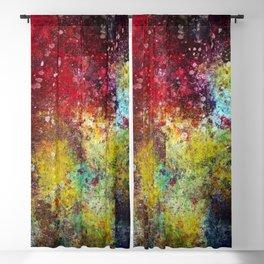 Dark Rainbow Blackout Curtain