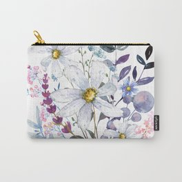 Wildflowers V Carry-All Pouch